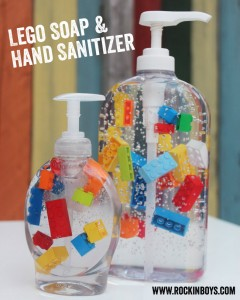 Lego Soap and Hand Sanitizer
