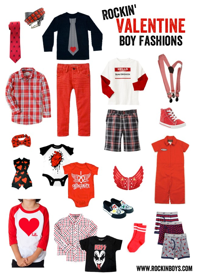 Boy's Valentine Fashion
