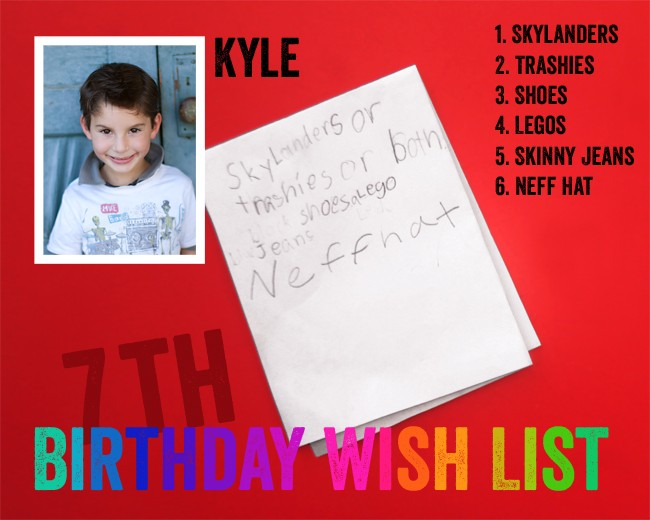 What 6 Year Old Boys Want for their Birthday