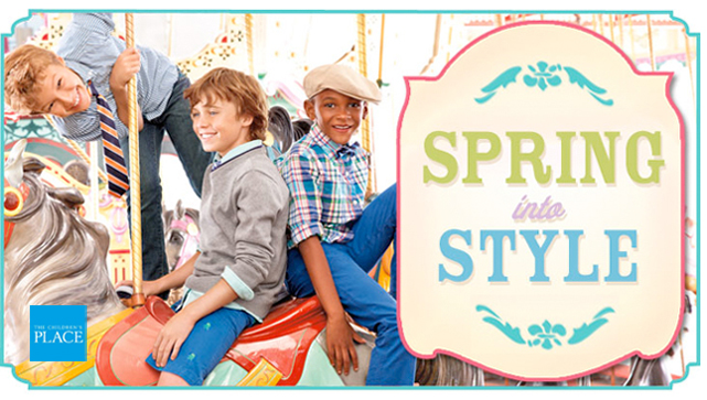 Spring Fashion at The Children's Place *$25 Giveaway*