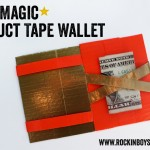 DIY Magic Duct Tape Wallet Tutorial