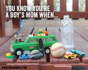 You know you're a mom of boys when…