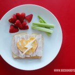 Valentine Lunch Idea: A Rockin' Valentine Sandwich