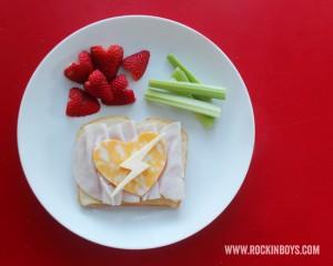 Valentine Lunch Idea: A Rockin' Valentine Sandwich