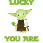 Star Wars St. Patrick's Day Printable