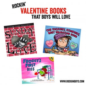 Great Valentine Books for Boys