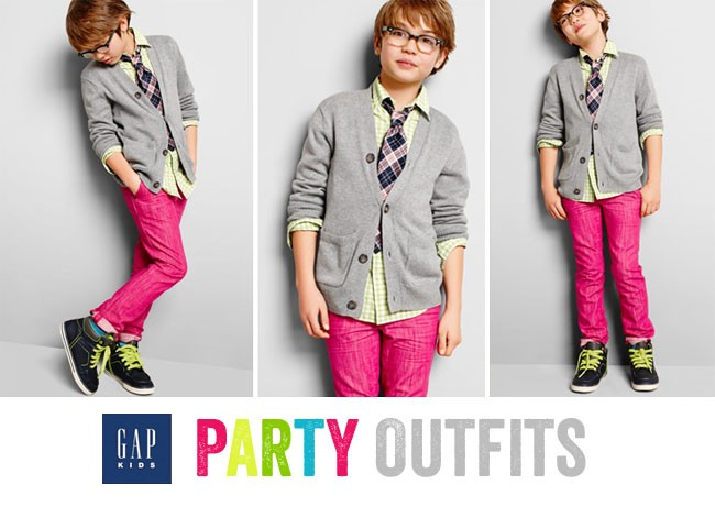 Boys Spring Party Line at Gap
