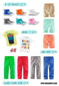 H&M Must Haves for Boys this Spring