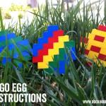 Lego Easter Egg Instructions