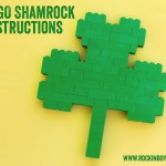 Build a LEGO Shamrock for St. Patrick's Day