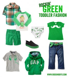 St. Patrick's Day Boy Outfits