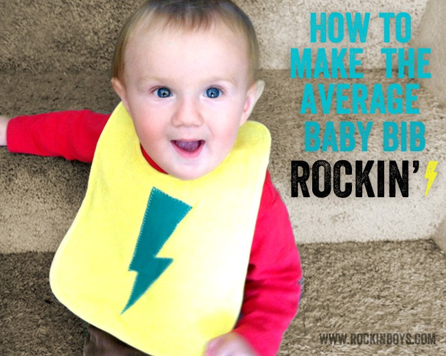 Make Your Baby Bibs Rock!