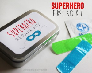 Superhero Repair Kit | Printable