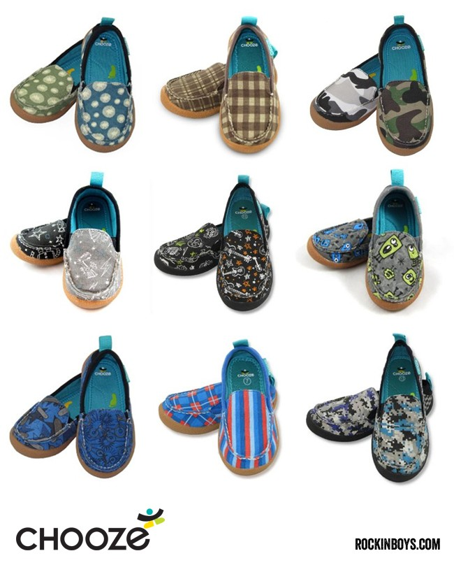 Chooze shoes encourage creativity