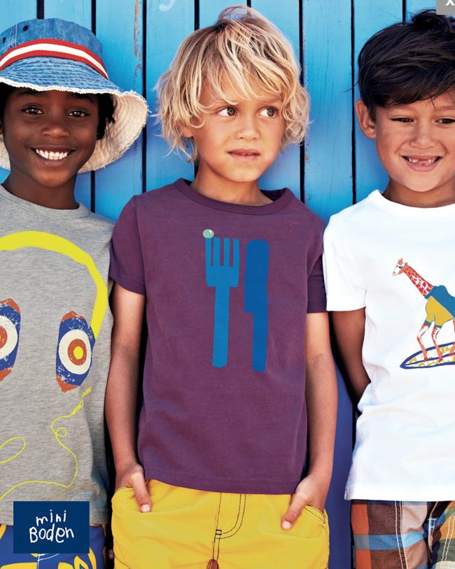 Brands We Love Mini Boden Rockin Boys Club