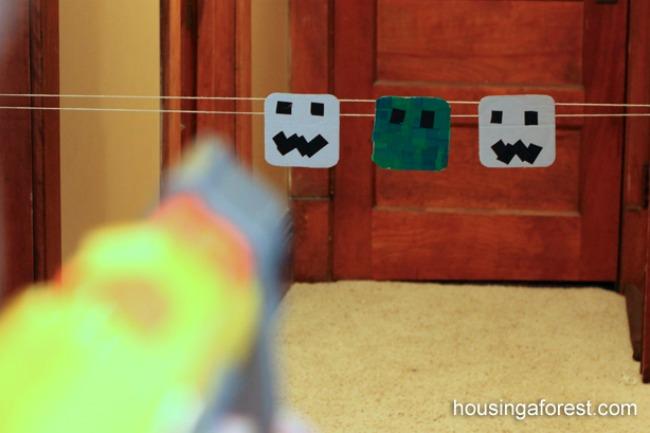 Minecraft-Nerf-Gun-Target-5