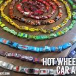 Making Art Using Hot Wheels Cars