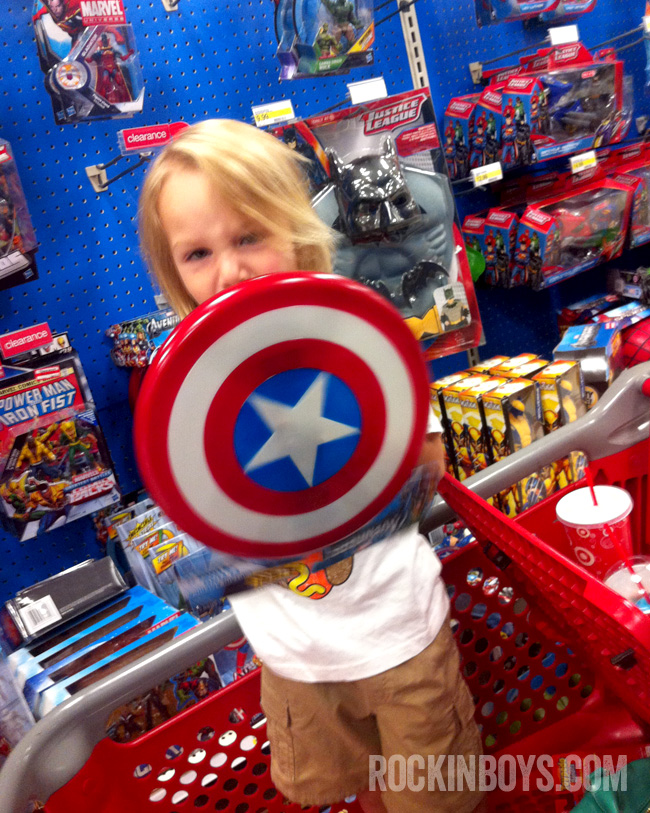 Target Toys For Boys : Target with my boys rockin club