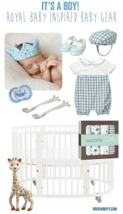 Royal Baby Inspired Baby Gear