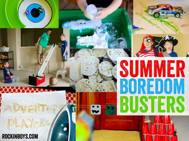 Boy-friendly boredom busters