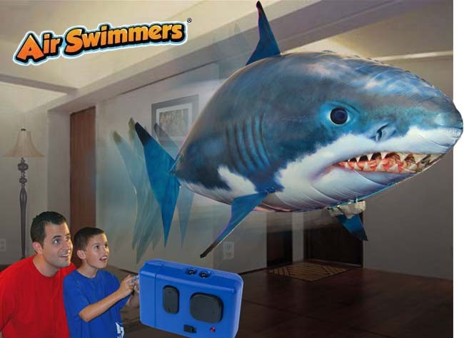 Air Swimmers Flying Shark Toys | Shark Week