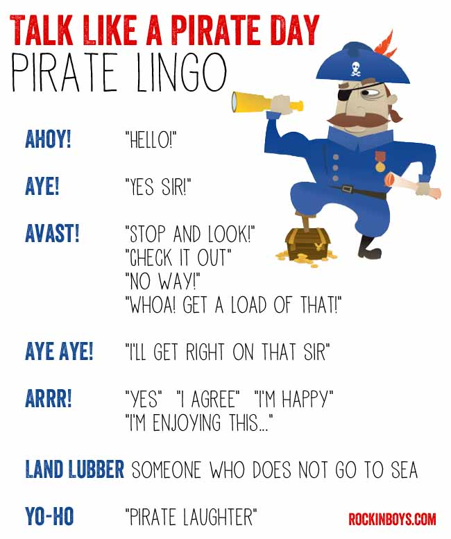 talk like a pirate day - photo #42