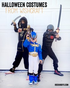 Boys Halloween Costumes from Wishcraft | #wishcraft