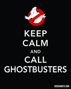 Happy October! Free Ghostbusters Halloween Printable