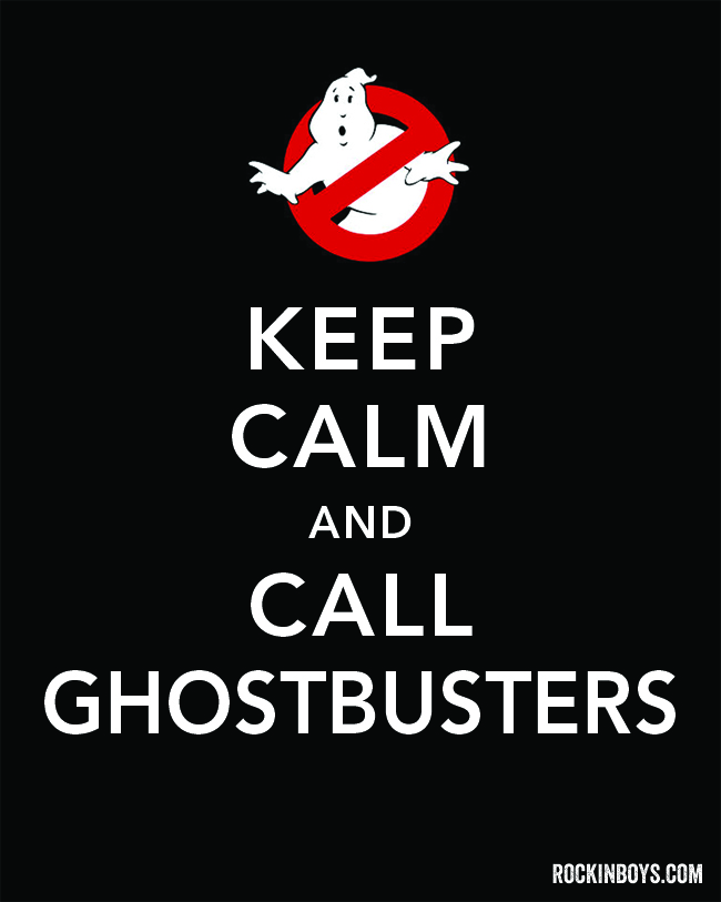 Ghostbusters | Free Halloween Printable
