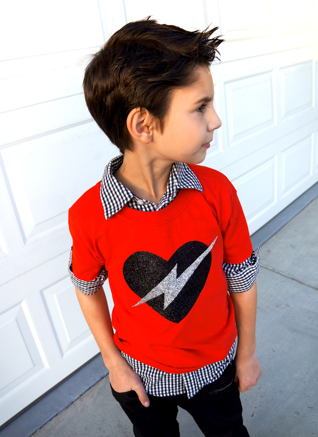 diy valentine shirt tutorial