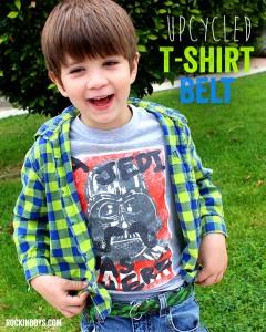 DIY Upcycled T-shirt Belt | Tutorial