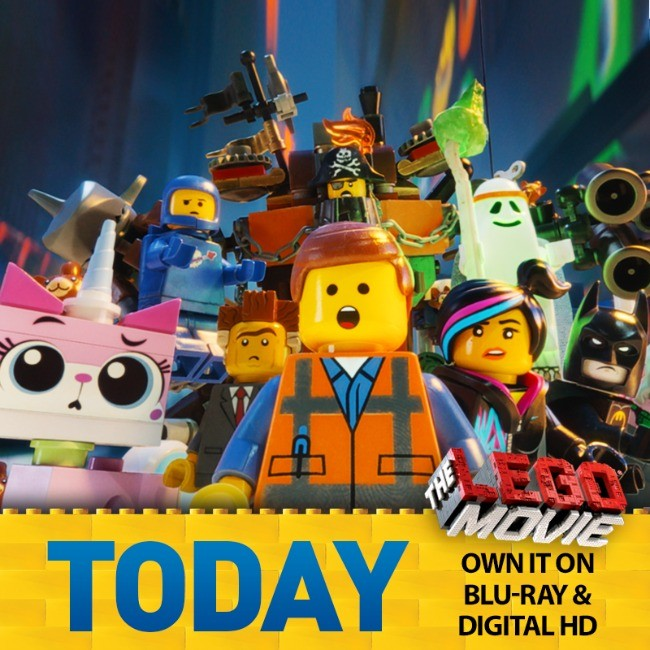THE LEGO MOVIE DVD and Blu-Ray Release