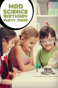 Rockin' Party Themes: Mad Scientist Birthday Party