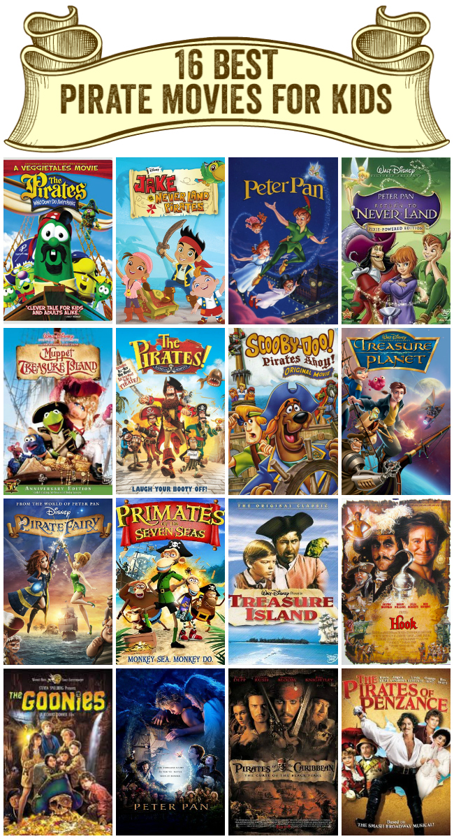 16 best pirate movies for kids