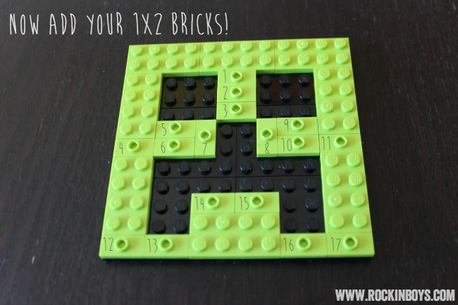 DIY Lego Minecraft Ornament