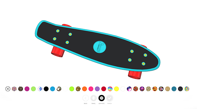 create your own penny skateboard rockin 39 boys club