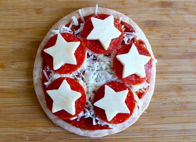 Captain America Pizza