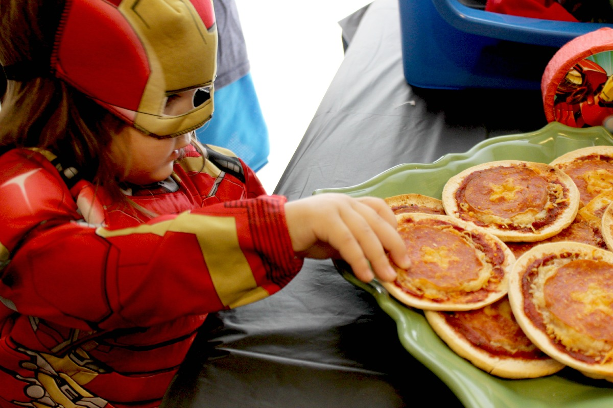 Avengers Costume Party Food