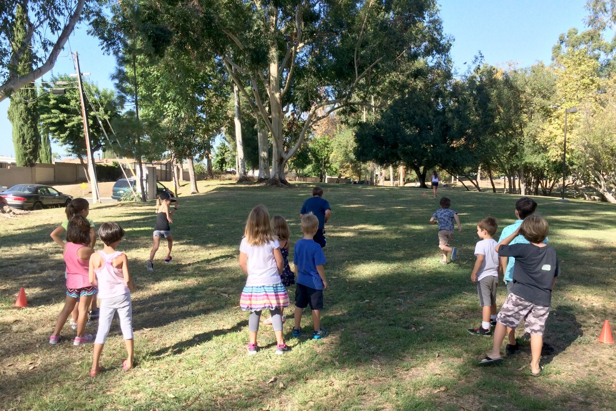 CLIF Kid Party Relay Race