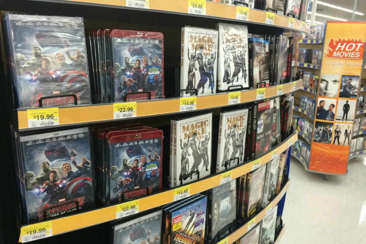 MARVEL's The Avengers Age of Ultron movie at Walmart