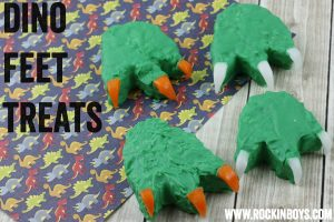 Dinosaur Feet Treats!