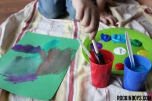 #sponsored, #shop, #collectivebias, #colorfulcreations, crayola, crayon resist art