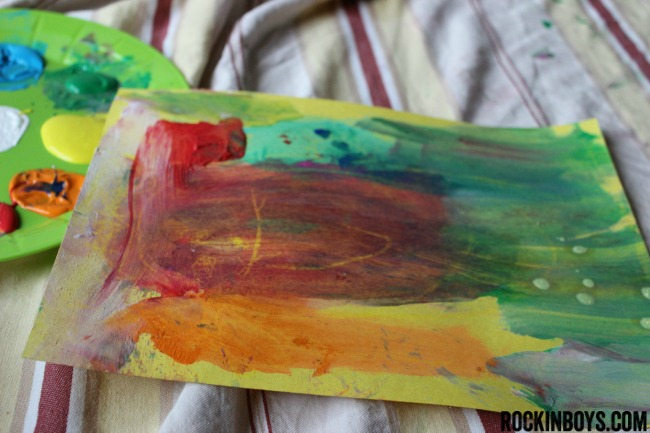 #sponsored, #shop, #collectivebias, #colorfulcreations, crayola, crayon resist art