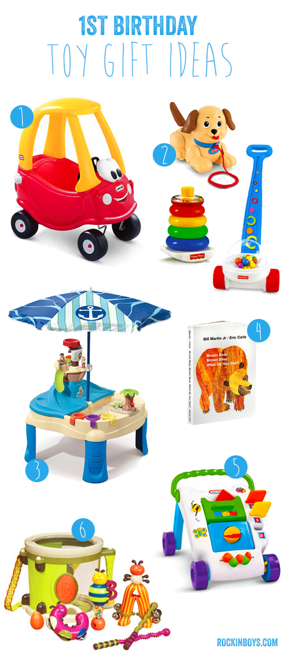 First Birthday Gift Ideas - Rockin' Boys