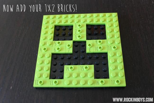 DIY Lego Minecraft Ornament