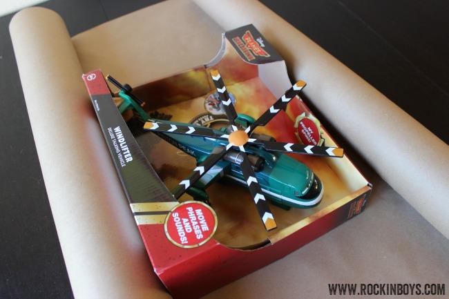 Disney Planes Windlifter Rollback Toy