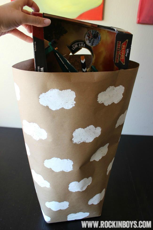 Disney Planes Wrapper Paper Gift Bag