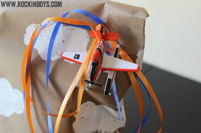 Dusty the Plane Party Gift Wrap Ideas