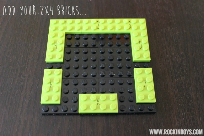 Lego Minecraft Creeper Ornament