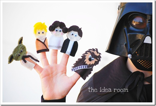 Star Wars Finger Puppets